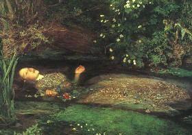 漱石はロンドン留学中に実際にジョン・エヴァレット・ミレイが描いた絵を観ていた♪文豪っ!